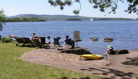 Bring a picnic to one of lakeside or forest parks