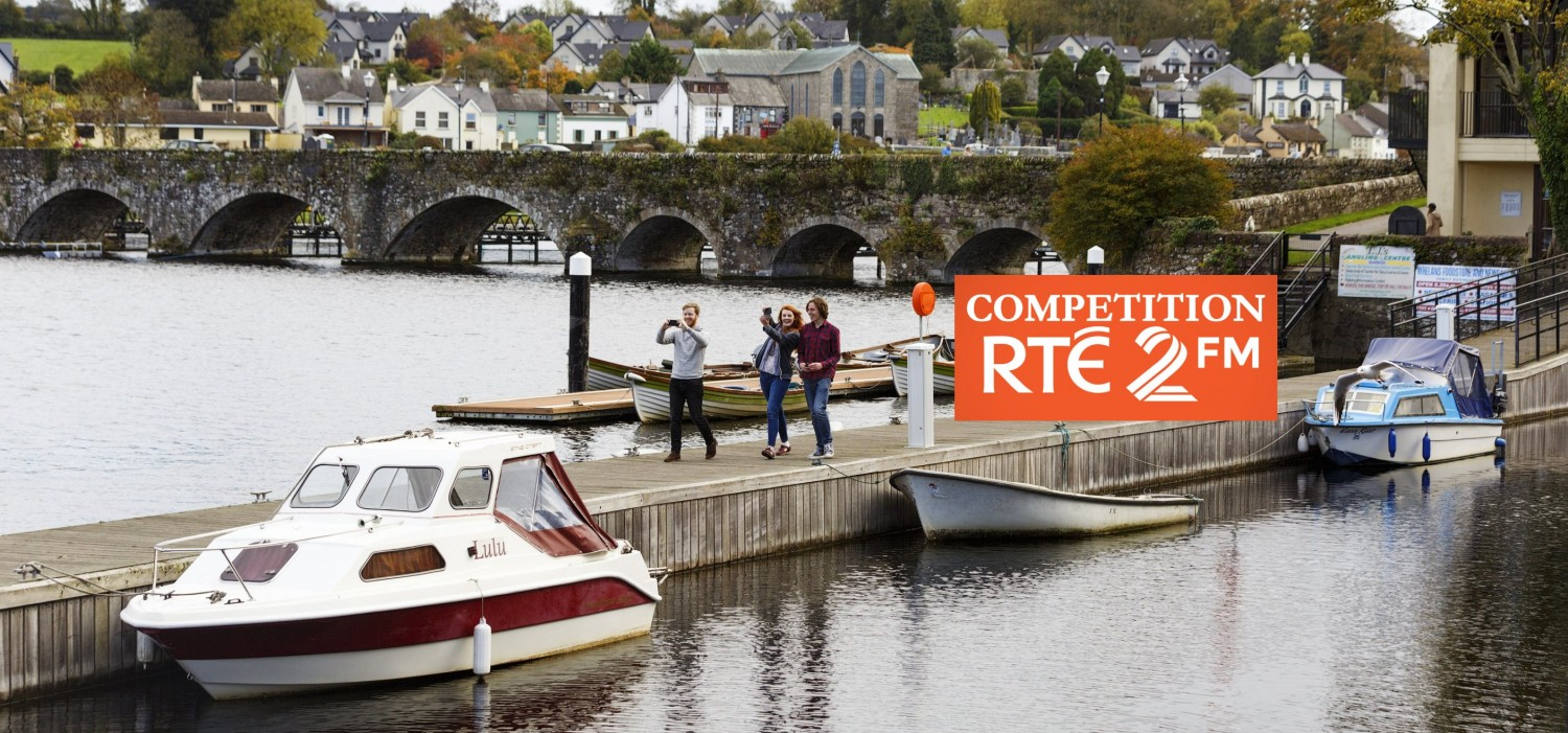 Competition Lough Derg Lakelands week long family adventure break.