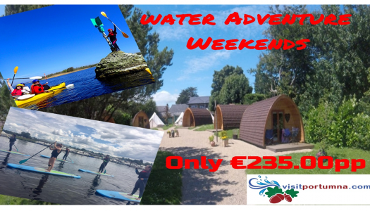 Water Couples Weekend Adventure Break €235.00pp