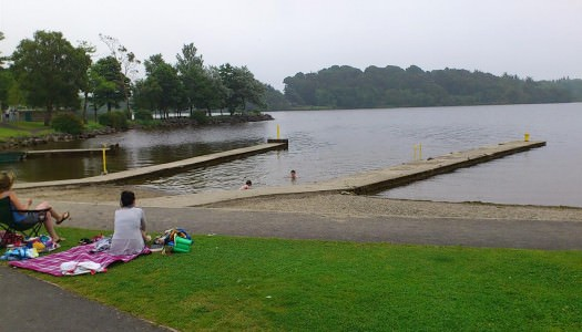 Swim at the Blue Flag Beach in Mountshannon