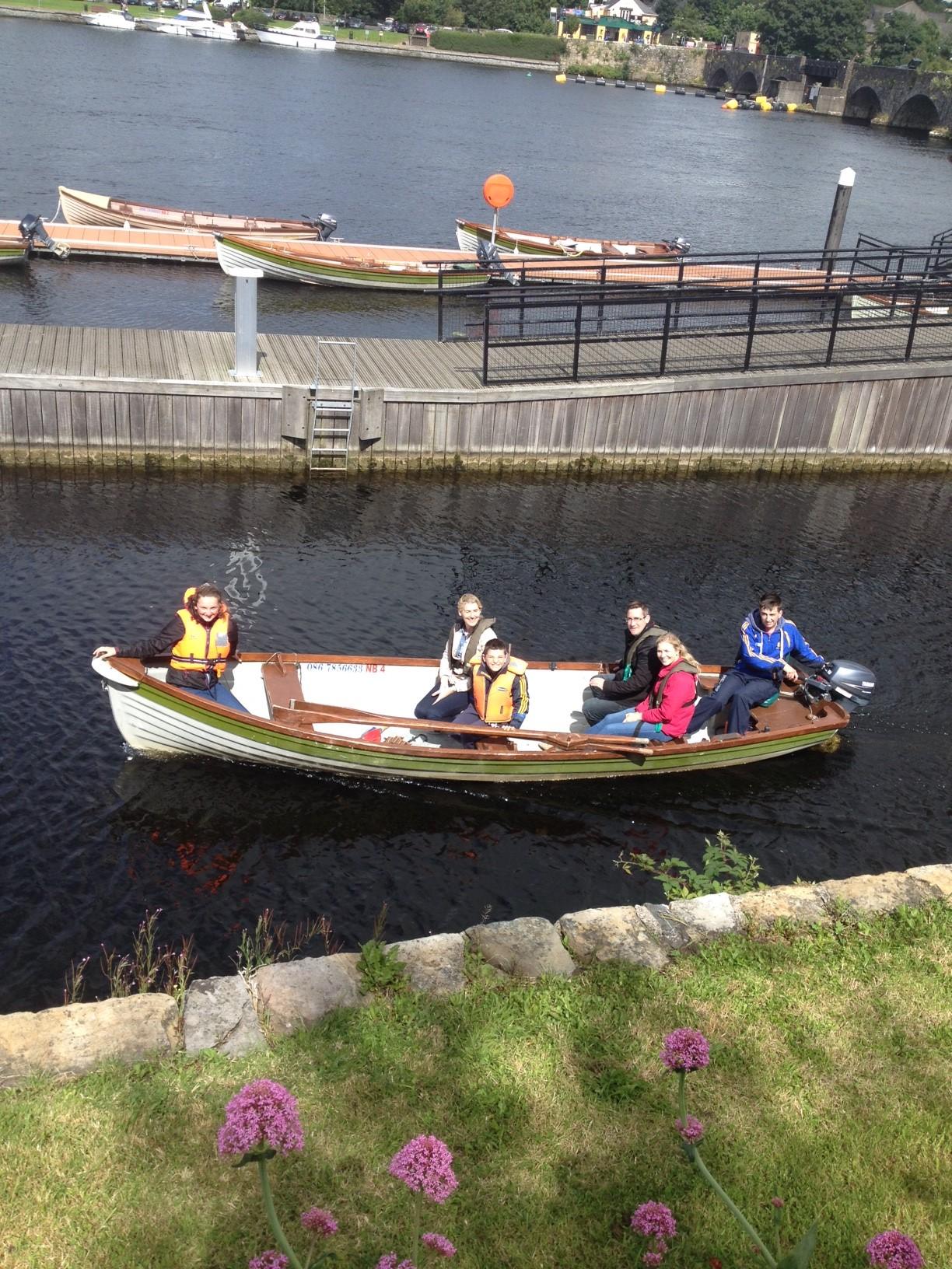 Fishing Break on Lough Derg
